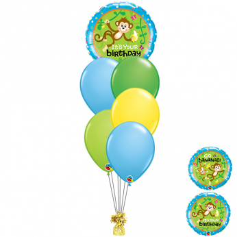 Ballonboeket Happy Birthday Aap