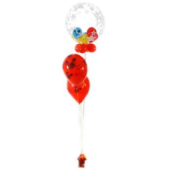 Ballonboeket Bubble Mickey Mouse
