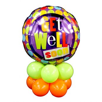 Tafeldecoratie Get Well