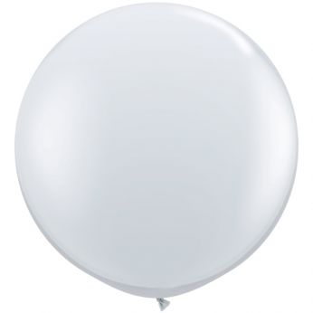 1 x 3ft (90 cm) Diamond Clear Qualatex Ballon