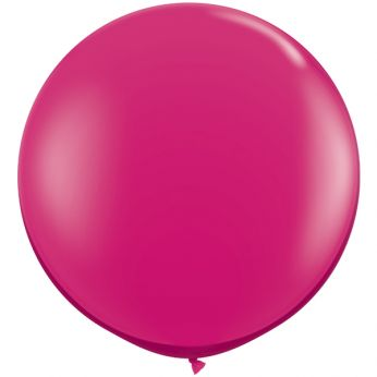 1 x 3ft (90 cm) Jewel Magenta Qualatex Ballon