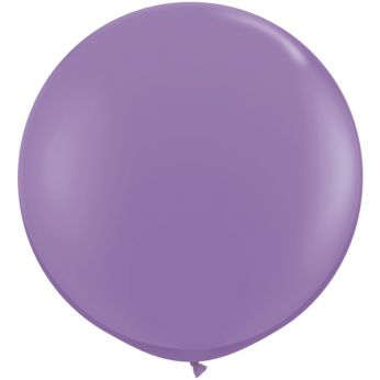 1 x 3ft (90 cm) Spring Lilac Qualatex Ballon