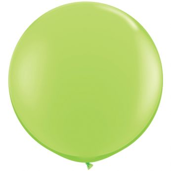 1 x 3ft (90 cm) Lime Green Qualatex Ballon