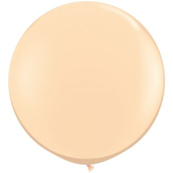 1 x 3ft (90 cm) Blush Qualatex Ballon