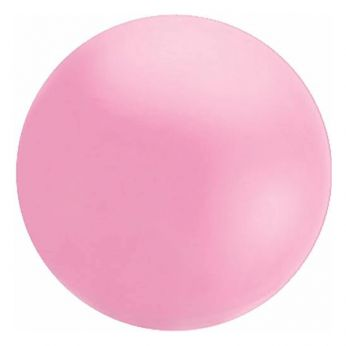 1 x 4ft (120 cm) Shell Pink Qualatex Ballon