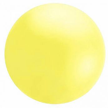 1 x 5.5ft (150 cm) Pastel Yellow Qualatex Ballon