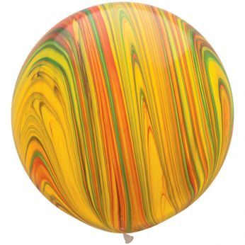 1 x 3ft (90 cm) Marmer Traditional Qualatex Ballon