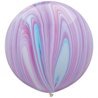 1 x 3ft (90 cm) Marmer Fashion Qualatex Ballon