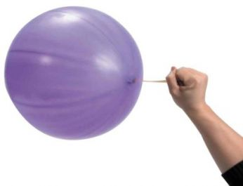 50 stuks Punch Purple Globos Ballon