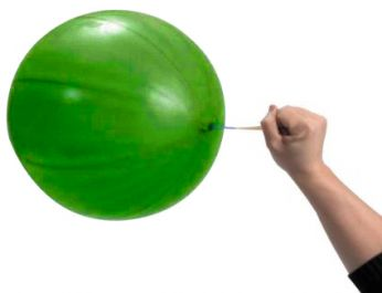 1 x Punch Green Globos Ballon