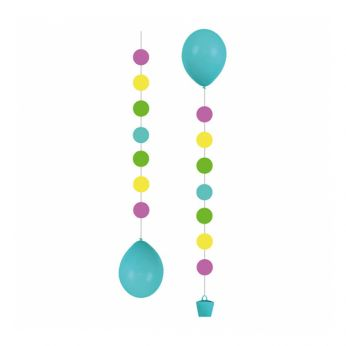 Balloon Tail Dots 3 Stuks