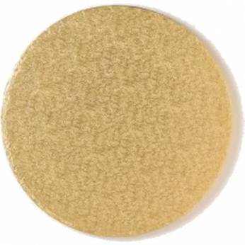 "Cake Board 8"" Single Gold"