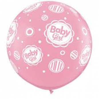 A Baby Girl 3ft Ballon