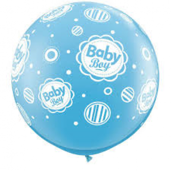 A Baby Boy 3ft Ballon