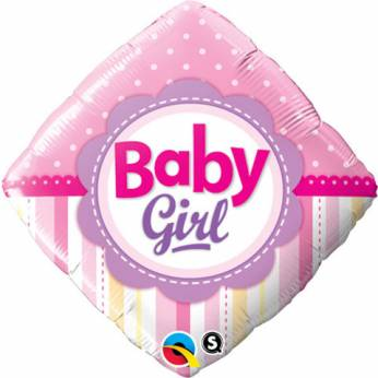 Folieballon Baby Girl