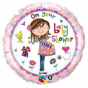 Folieballon On Your Baby Shower