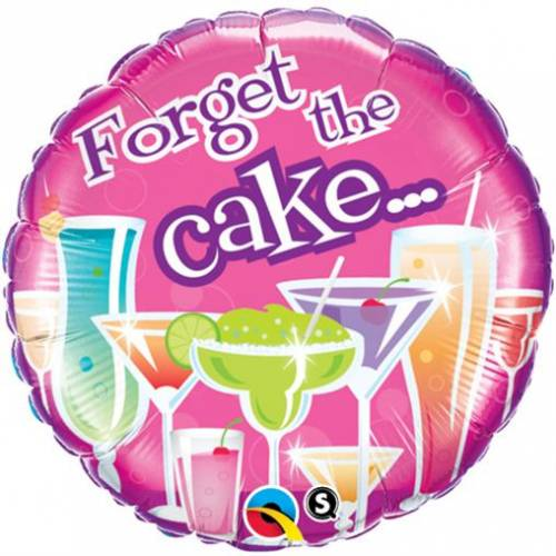 Folieballon Forget the Cake