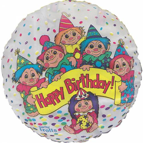 Folieballon Happy Birthday