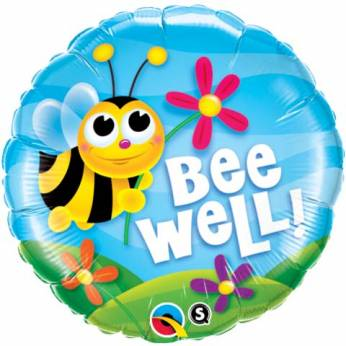 Folieballon Bee Well