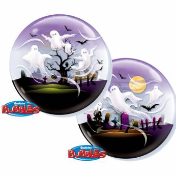 Bubble ballon Spooky Ghosts