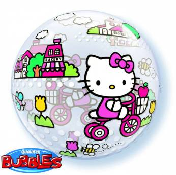 Bubble ballon Hello Kitty
