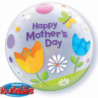 Bubble Ballon Moederdag Happy Mothers Day