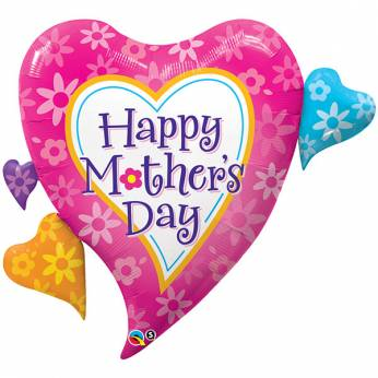 Folieballon Moederdag Happy Mother's Day