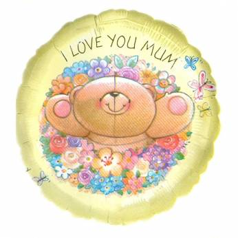 Folieballon Forever Friends I love you mum