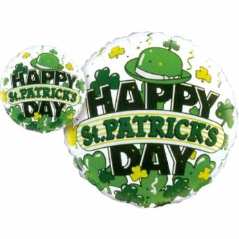 Folieballon met de tekst: Happy St. Patrick's Day
