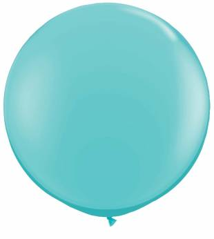 Qualatex Caribbean Blue (Lichtblauw) Ballon 3ft per Stuk
