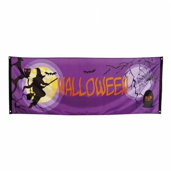 Banner Midnight Moon Halloween