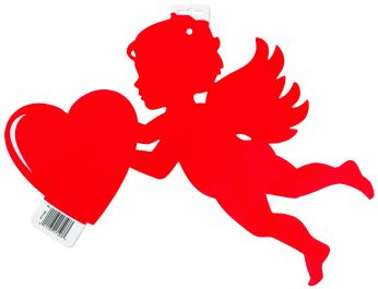 Rode Cupido Decoratie