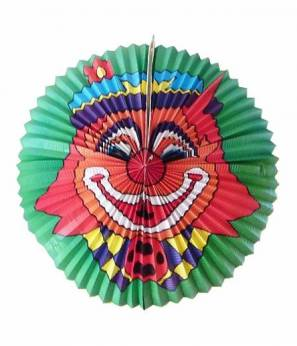Lampion Clown 60cm