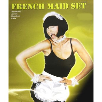 French maid/serveerster set