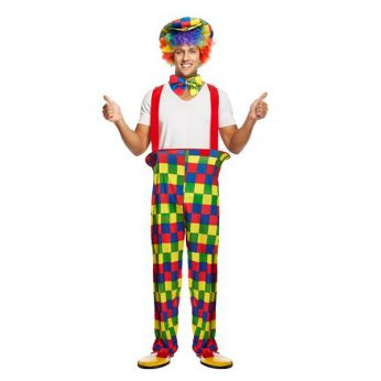 Clowns Kostuum One size