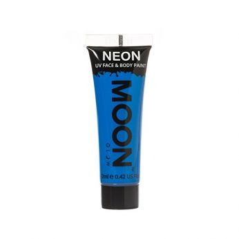Neon UV Face & Body Paint Blauw