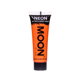 Neon UV Face & Body Paint Oranje