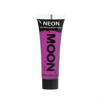 Neon UV Face & Body Paint Paars