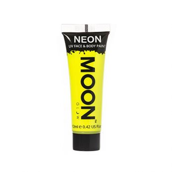 Neon UV Face & Body Paint Geel