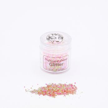 Chunky glitters baby pink