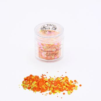 Chunky glitters goldfish orange