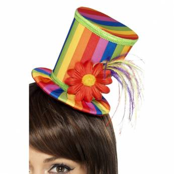 Diadeem Clownshoedje Rainbow