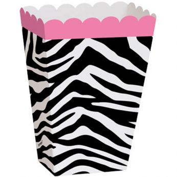 Treat Boxes Zebra Print