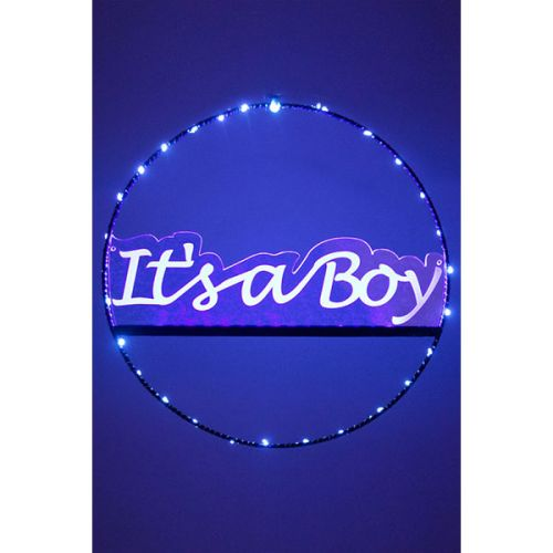Decoratie roze - It's a boy