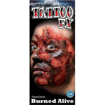 Tattoo Burned Alive