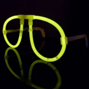 Glow in the Dark Bril Per Stuk