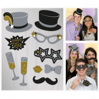 New Years Photobooth Set