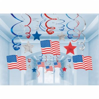 Hangdecoratie Usa