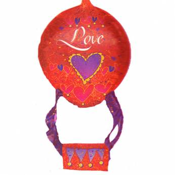 XL Folieballon Luchtballon Love