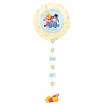 Drop a line Folieballon met Winnie de Poeh